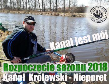 I Towarzyskie Zawody Spławikowo-Gruntowe