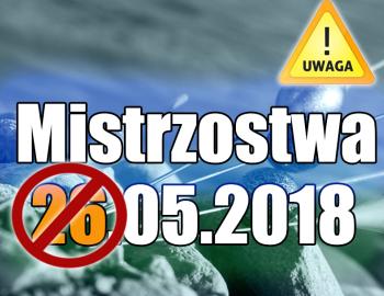 Komunikat 3. Mistrzostwa Spławikowe Koła - Zmiana terminu