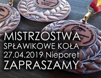 Komunikat 3 - Mistrzostwa Spławikowe Koła